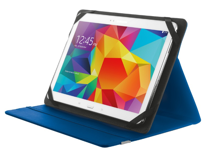 Korting Trust Primo Folio Case with Stand for 10I tablets blue tablethoesje