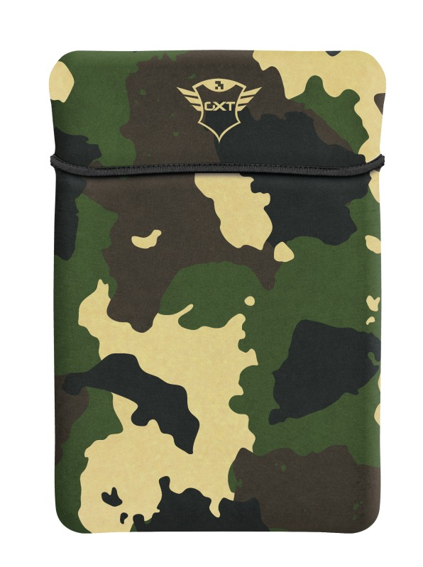 Trust GXT 1242C Lido Laptop Sleeve - 15.6 inch - Jungle Camouflage Laptop sleeve