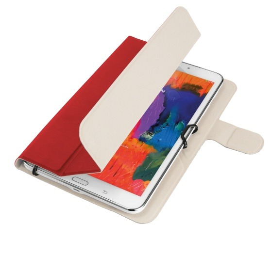 Korting Trust AEXXO FOLIO CASE 10.1i RED tablethoesje