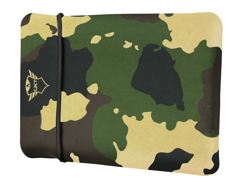 Trust GXT 1244C Lido Laptop Sleeve - 17.3 inch - Jungle Camouflage Laptop sleeve