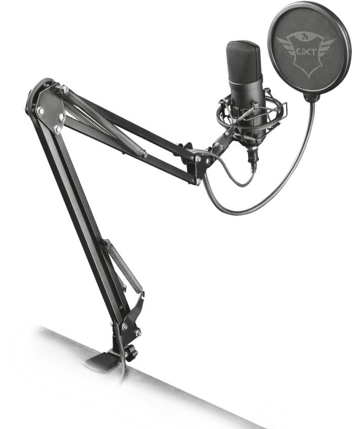 Foto van Trust GXT 252 Emita Plus Microfoon - Gaming & Streamen Microfoon