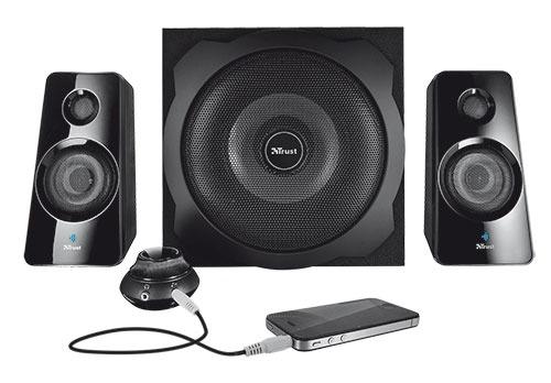 Trust Tytan 2.1 Subwoofer Speaker Set with Bluetooth PC speaker