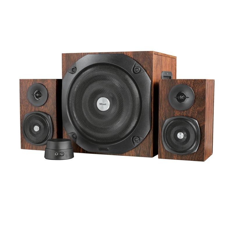 Korting Trust Vigor 2.1 Subwoofer Speaker Set brown pc speaker
