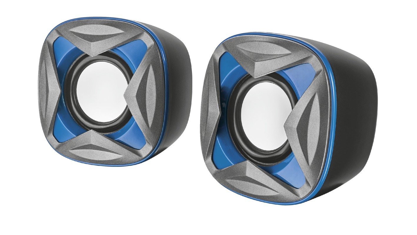 Korting Trust Xilo Compact 2.0 Speaker Set blue pc speaker