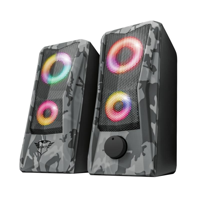 Trust GXT 606 Javv 2.0 Speaker Set - RGB PC speaker Zwart