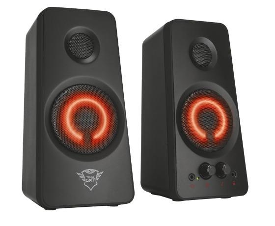 Trust GXT 608 Tytan Illuminated 2.0 Speaker Set - Gaming PC speaker Zwart