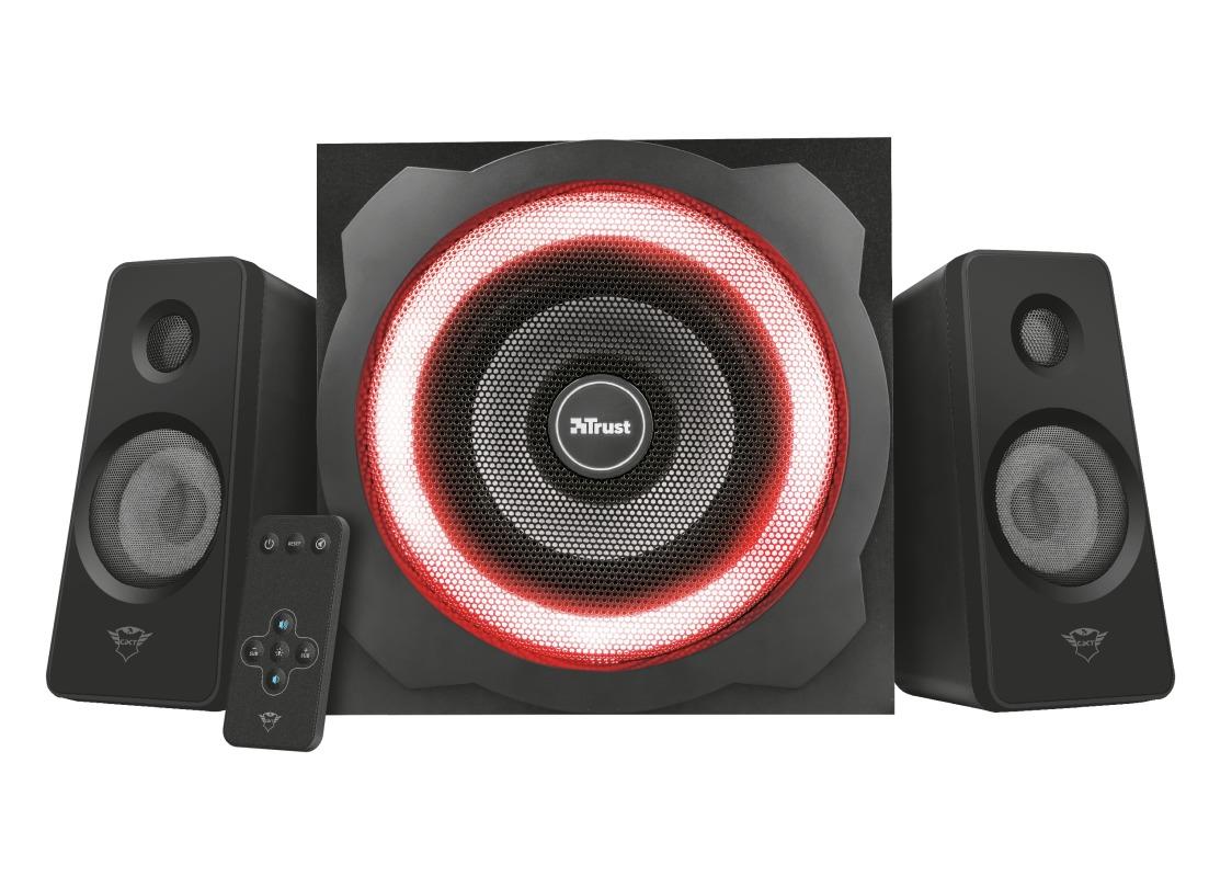 Trust GXT 629 Tytan RGB Illuminated 2.1 Speaker Set - Gaming PC speaker