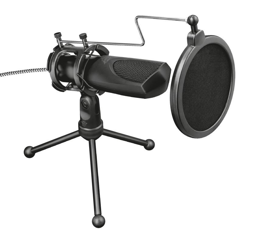 Trust GXT 232 Mantis Microfoon - Gaming & Streamen Microfoon