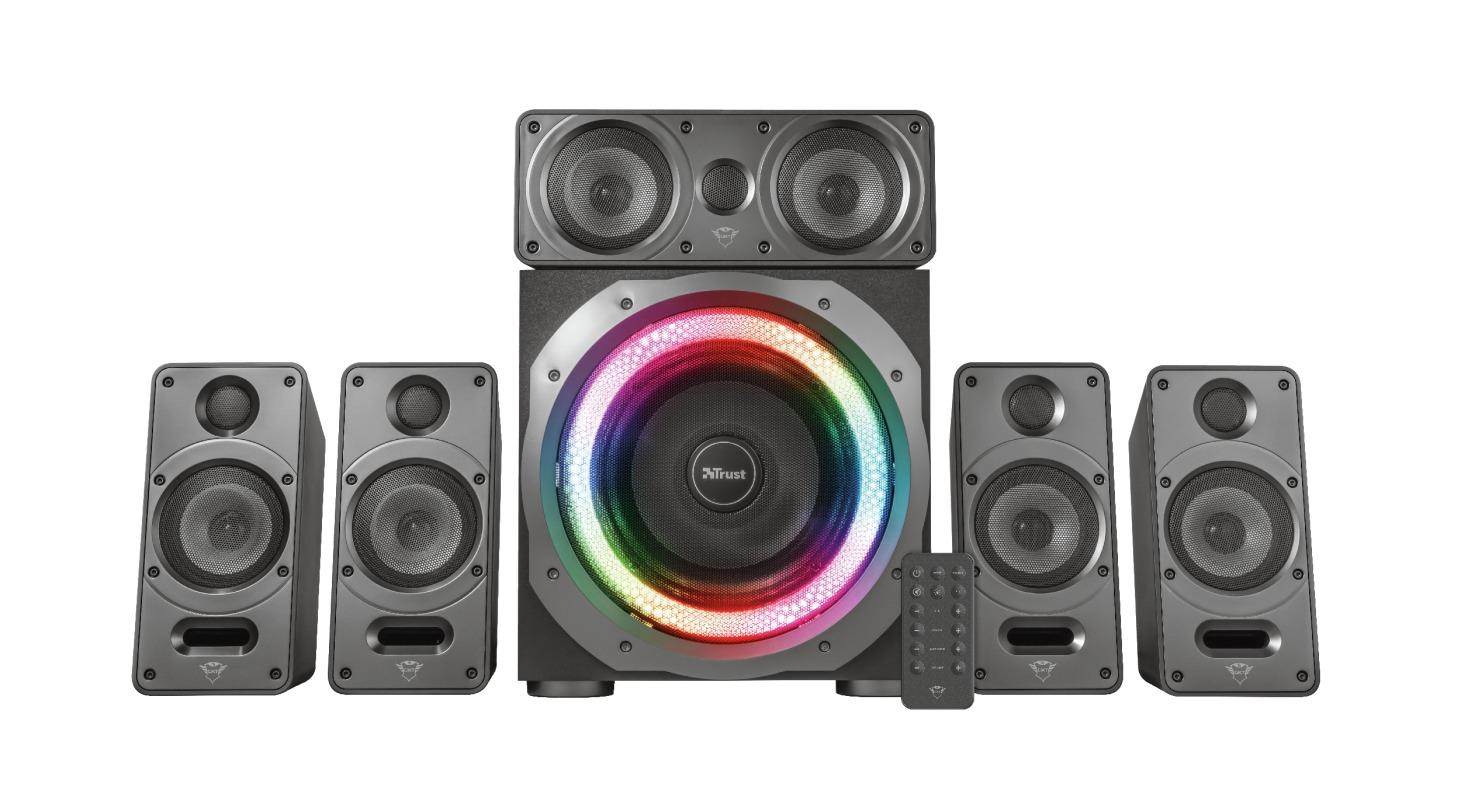 Trust GXT 698 Torro 5.1 Speaker Set - RGB PC speaker