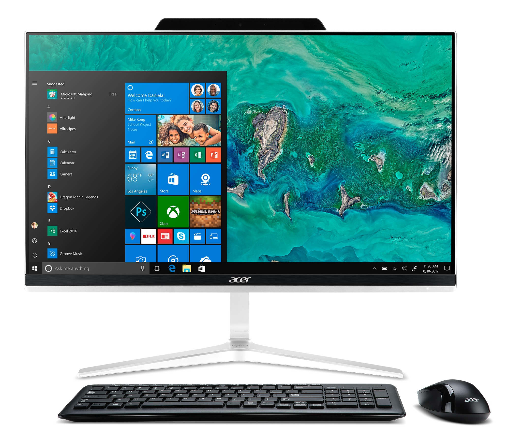 Acer Aspire Z24-890 I7430 NL All-in-one PC