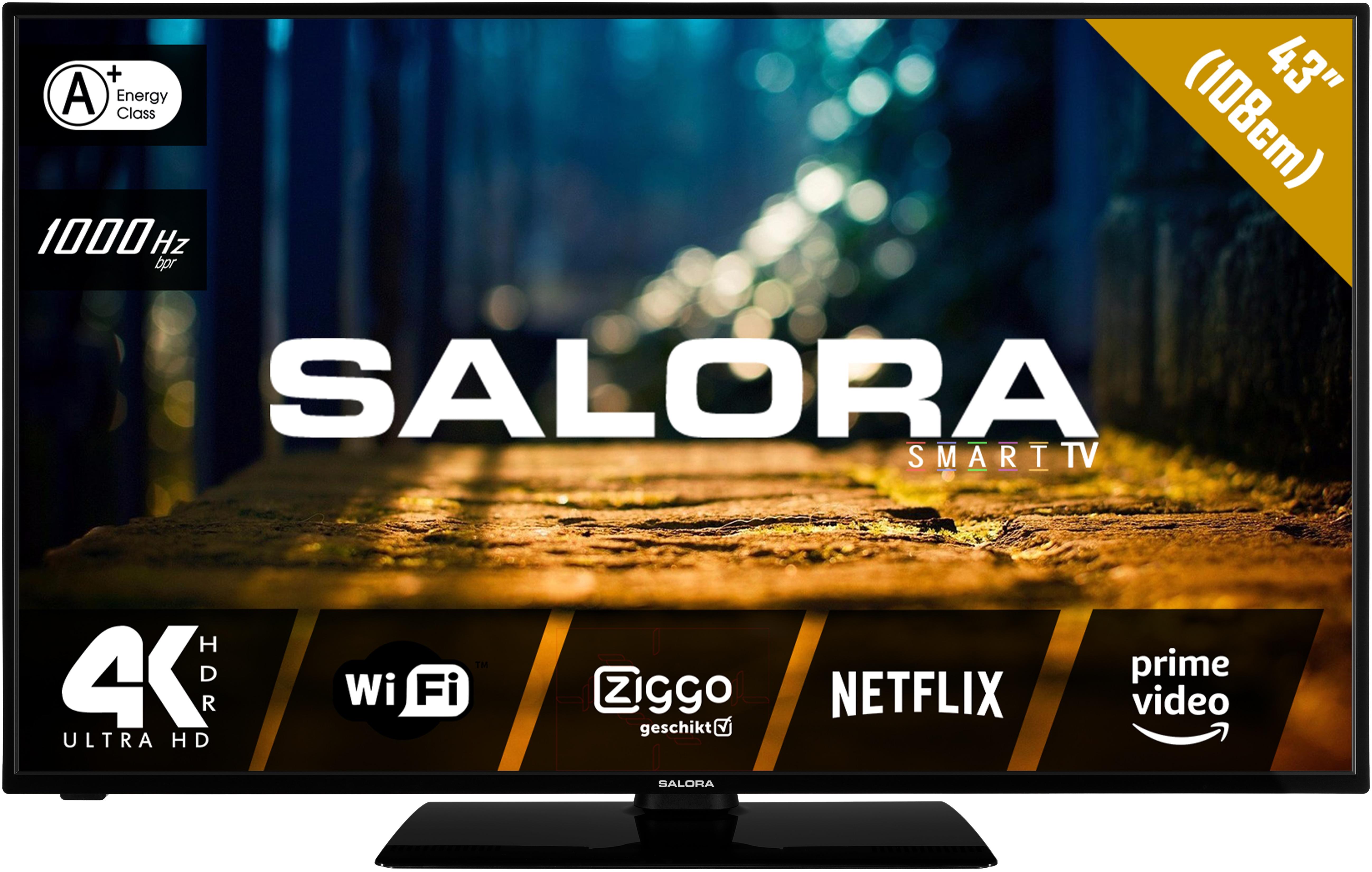 Korting Salora 43XUS4404 UHD TV