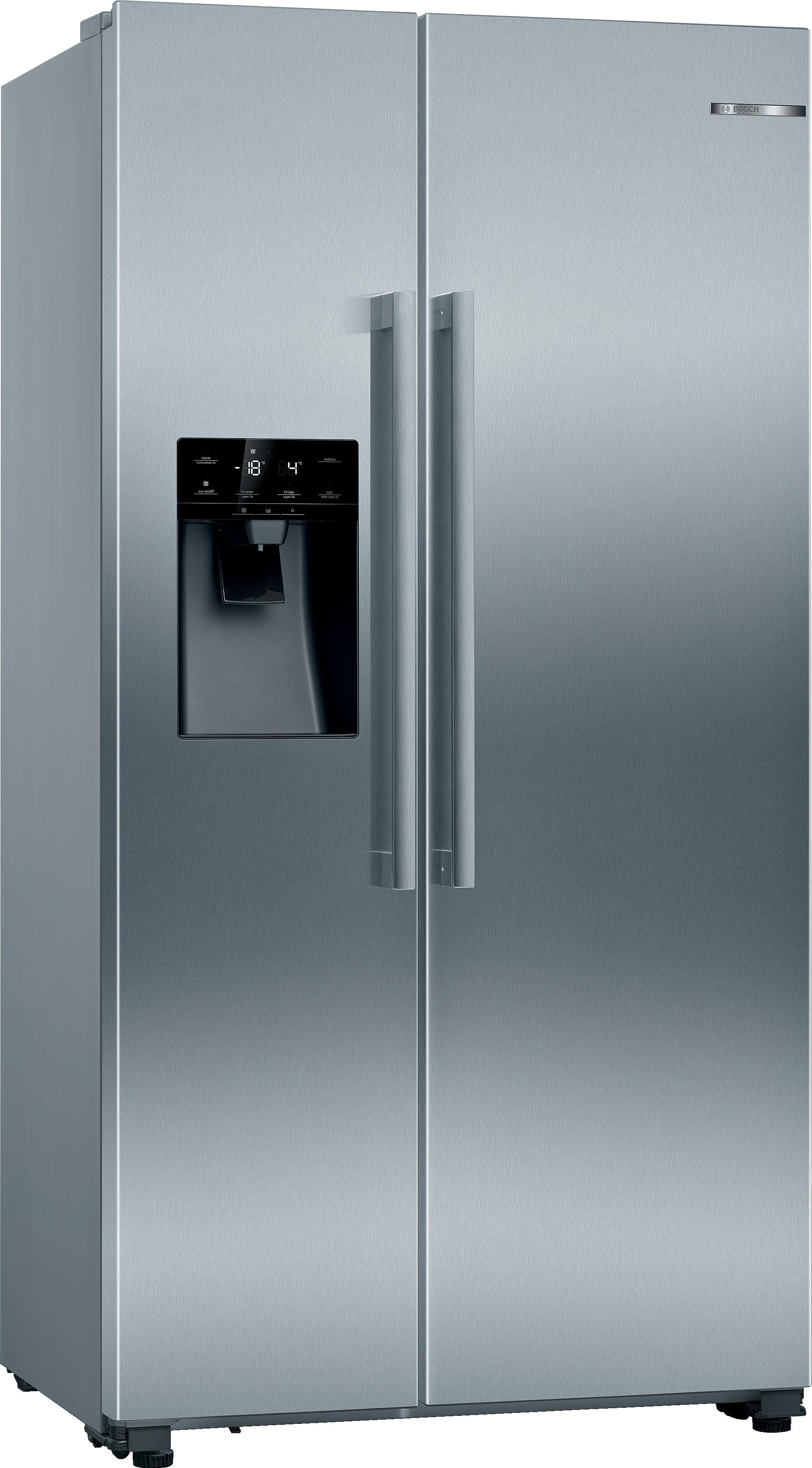 Bosch KAD93VIFP Amerikaanse koelkast Staal