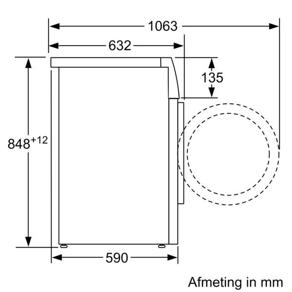 Bosch WAXH2M00NL wasmachine - Prijsvergelijk