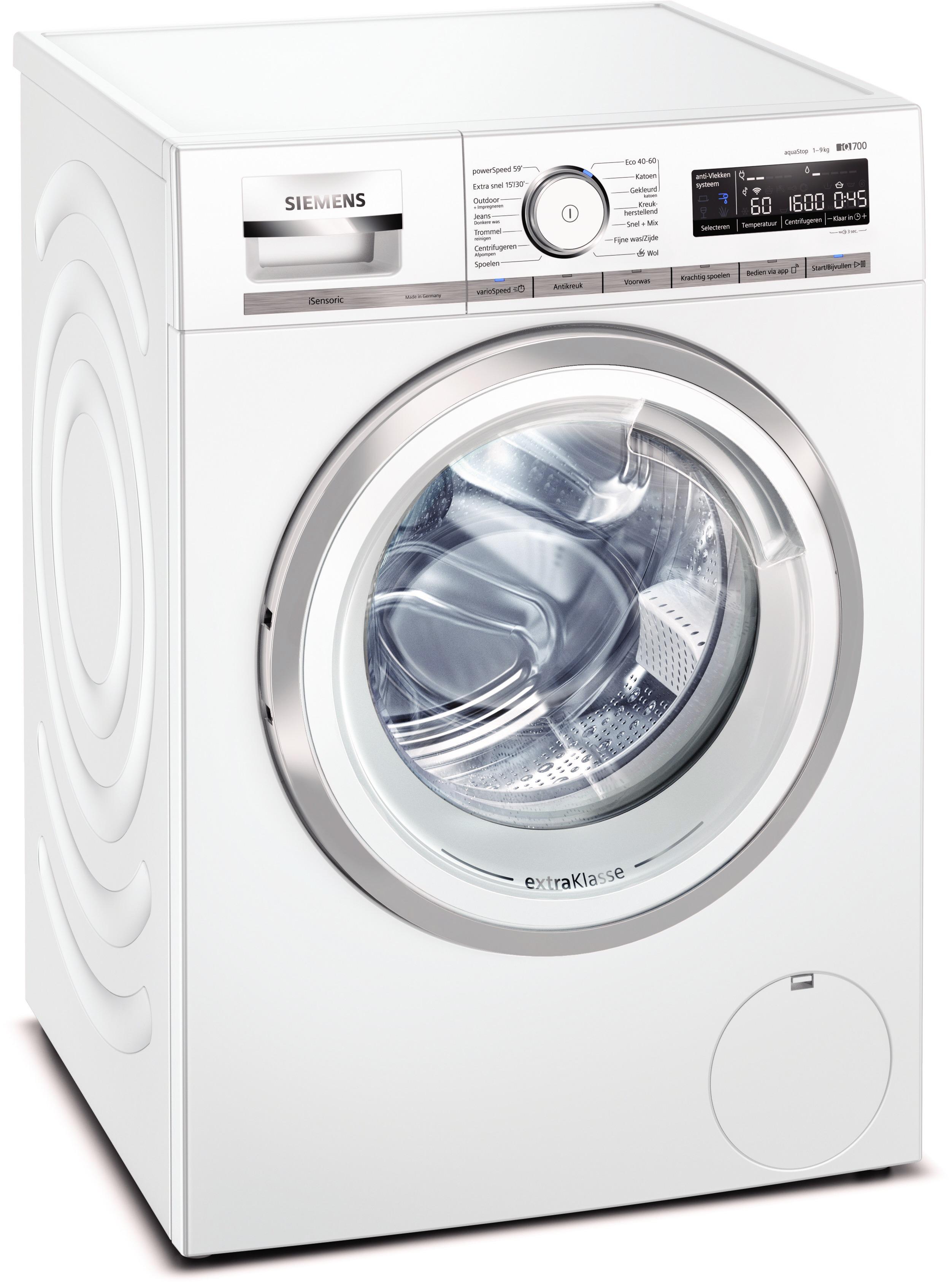 Siemens WM6HXM90NL Wasmachine Wit