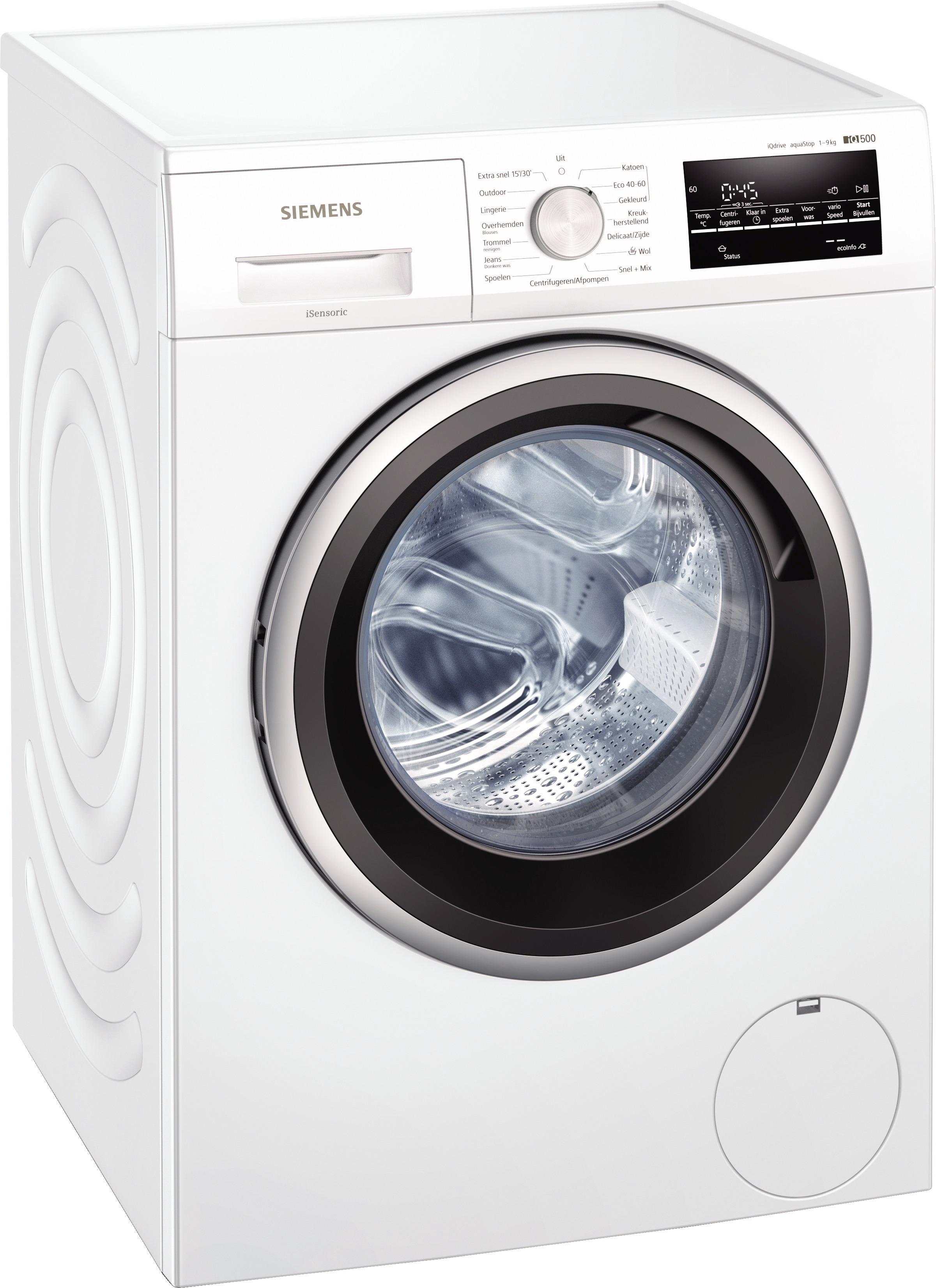 Siemens WM14UT75NL Wasmachine Wit