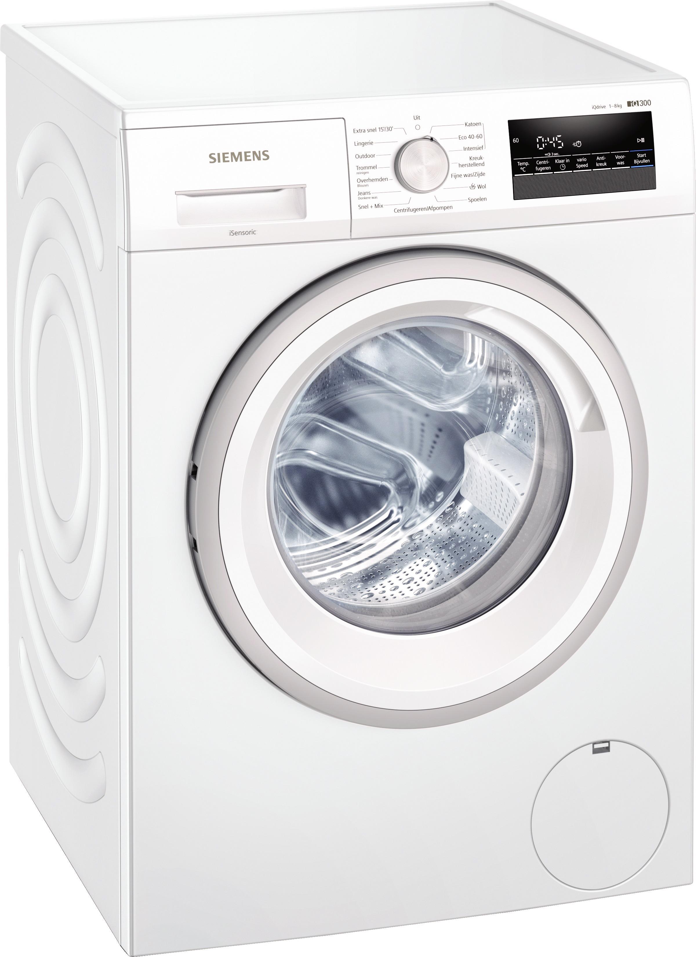 Siemens WM14N205NL Wasmachine Wit