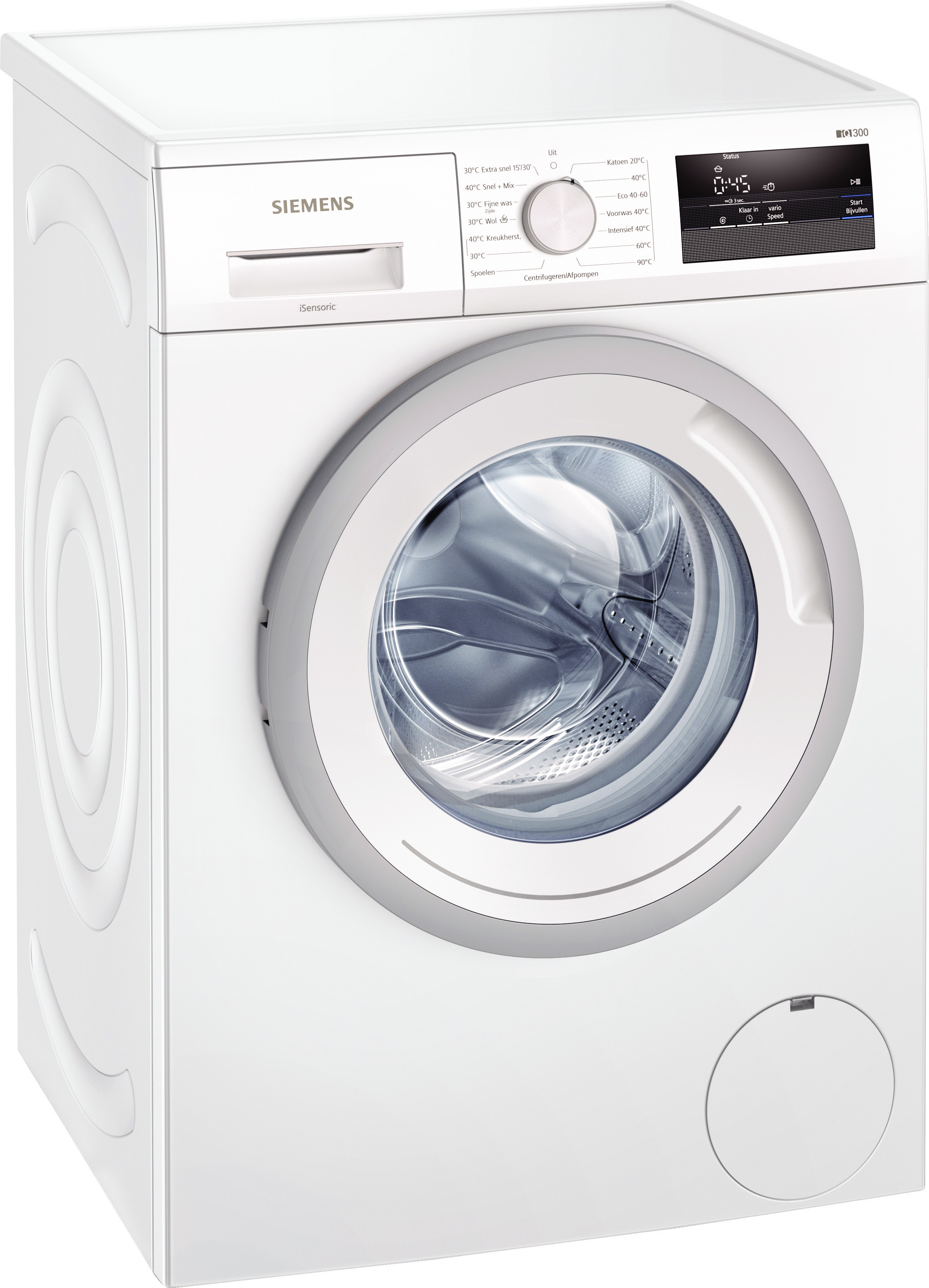 Siemens WM14N005NL Wasmachine Wit