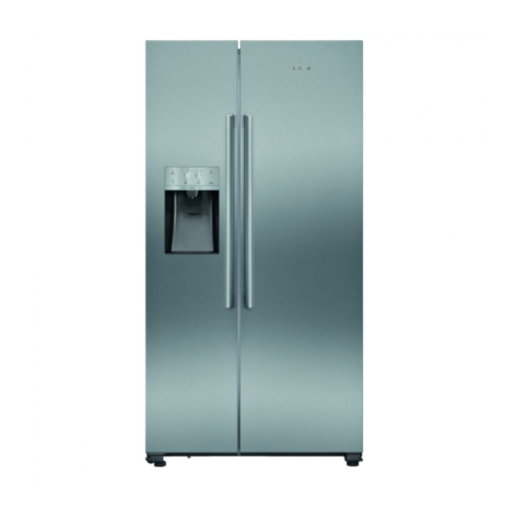 Siemens KA93DAIEP Amerikaanse koelkast Aluminium
