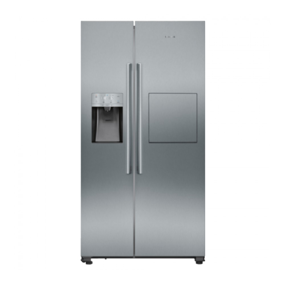 Siemens KA93GAIEP Amerikaanse koelkast Aluminium