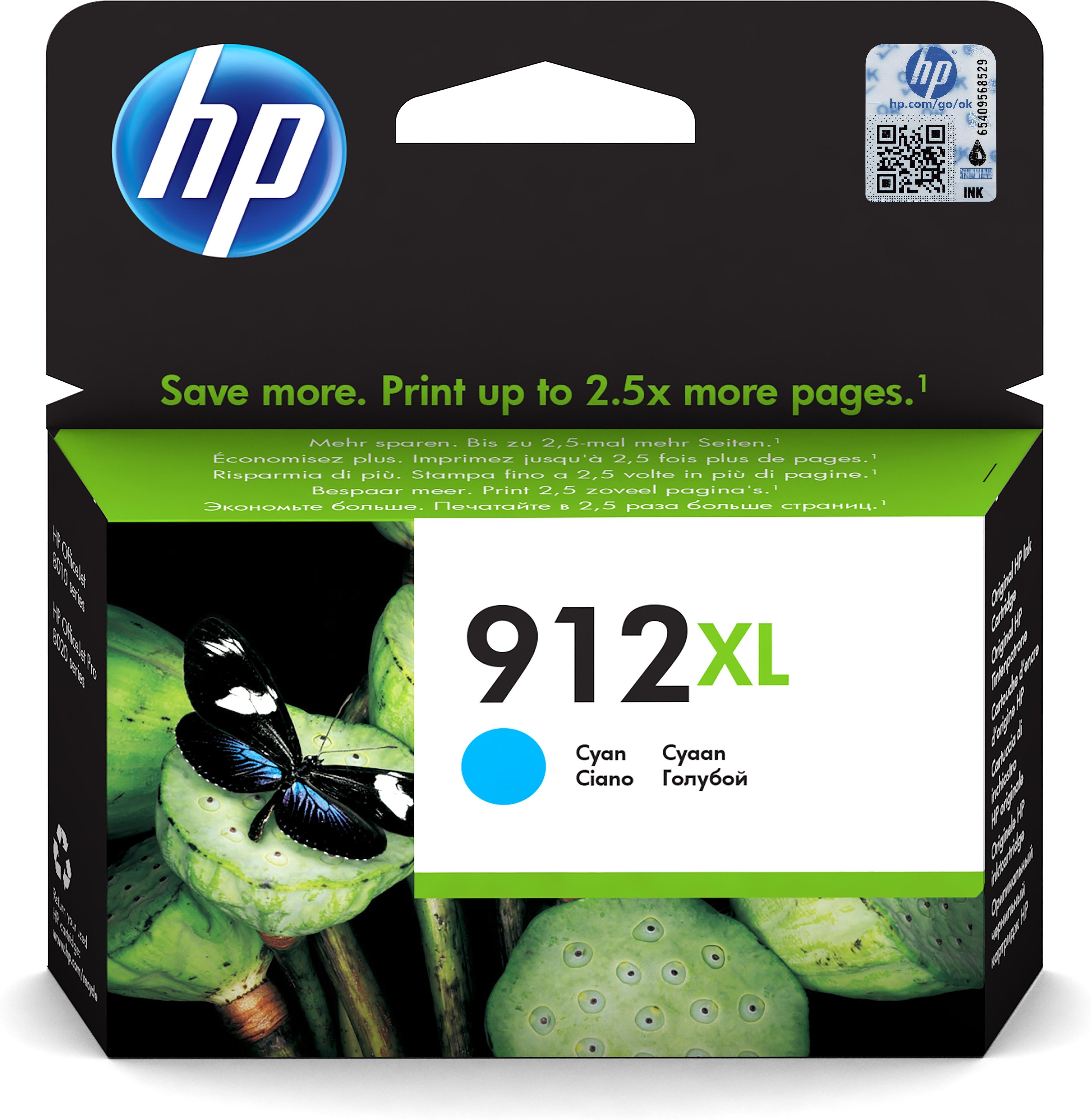 HP 3YL81AE inktcartridge Origineel Cyaan 1 stuk(s)