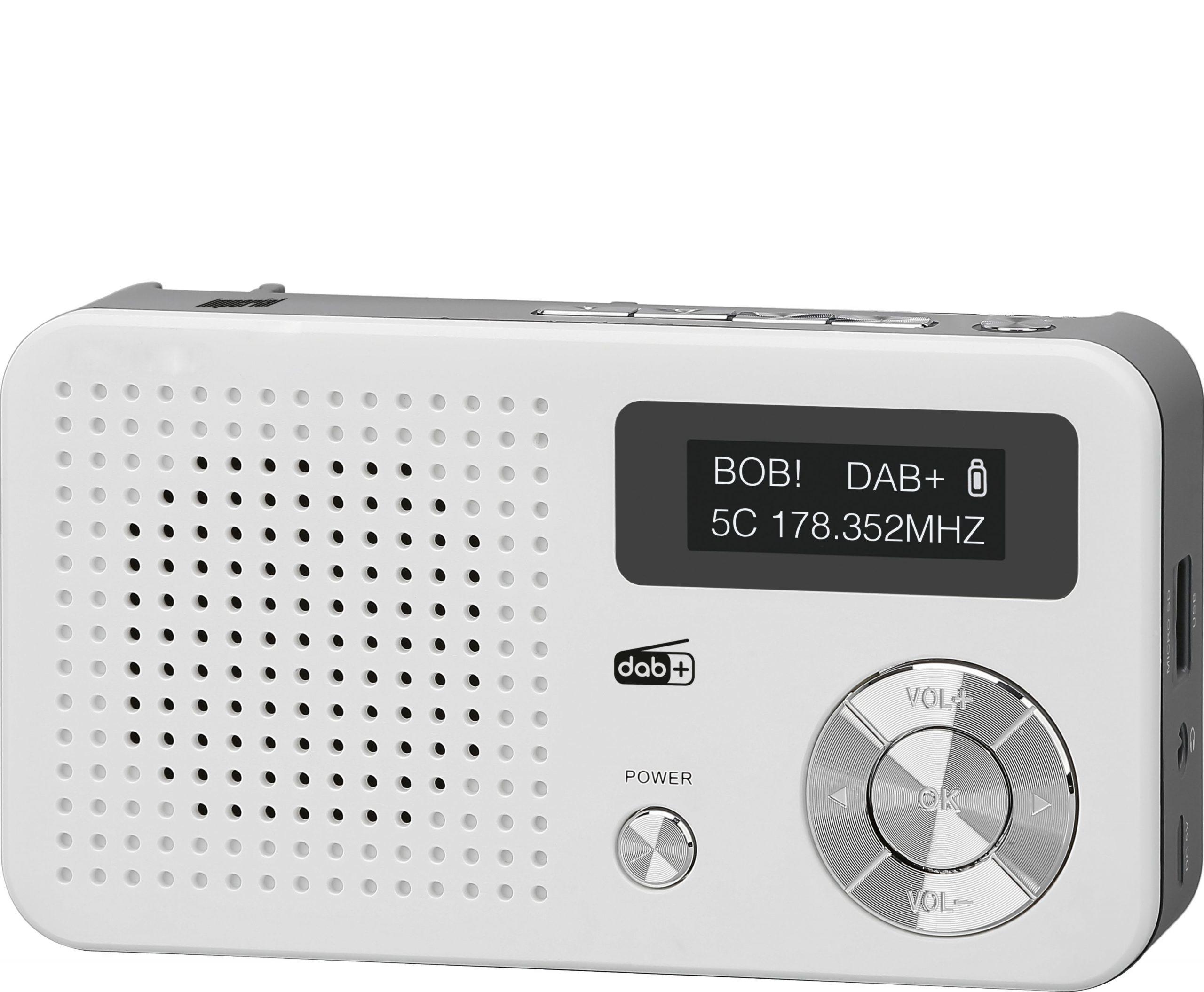Imperial Dabman 13 DAB radio Wit