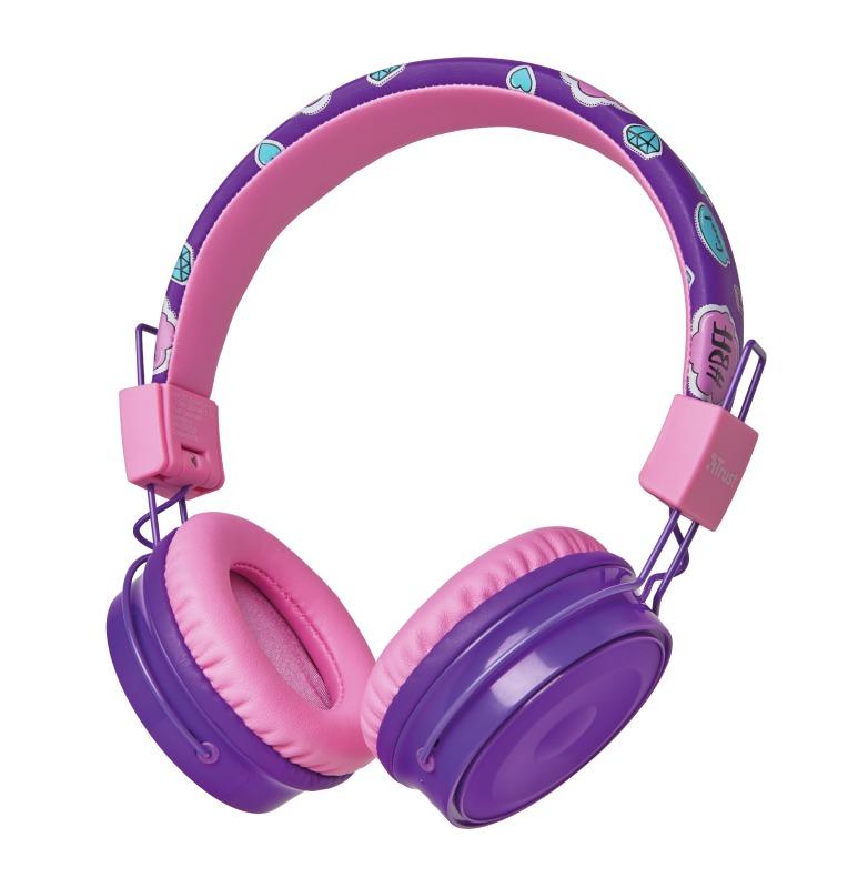 Korting Trust Comi Bluetooth hoofdtelefoon