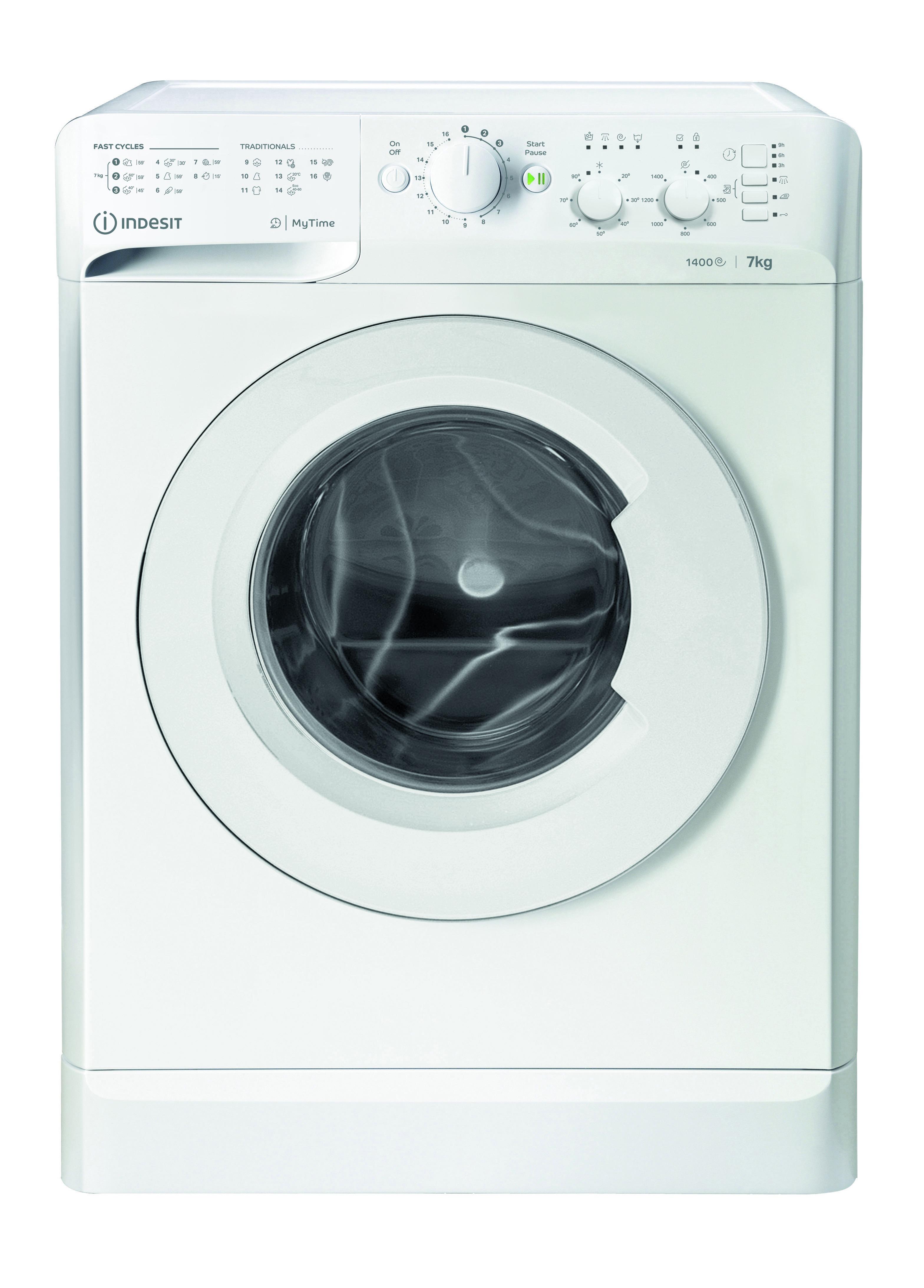 Indesit MTWC 71452 W EU Wasmachine Wit