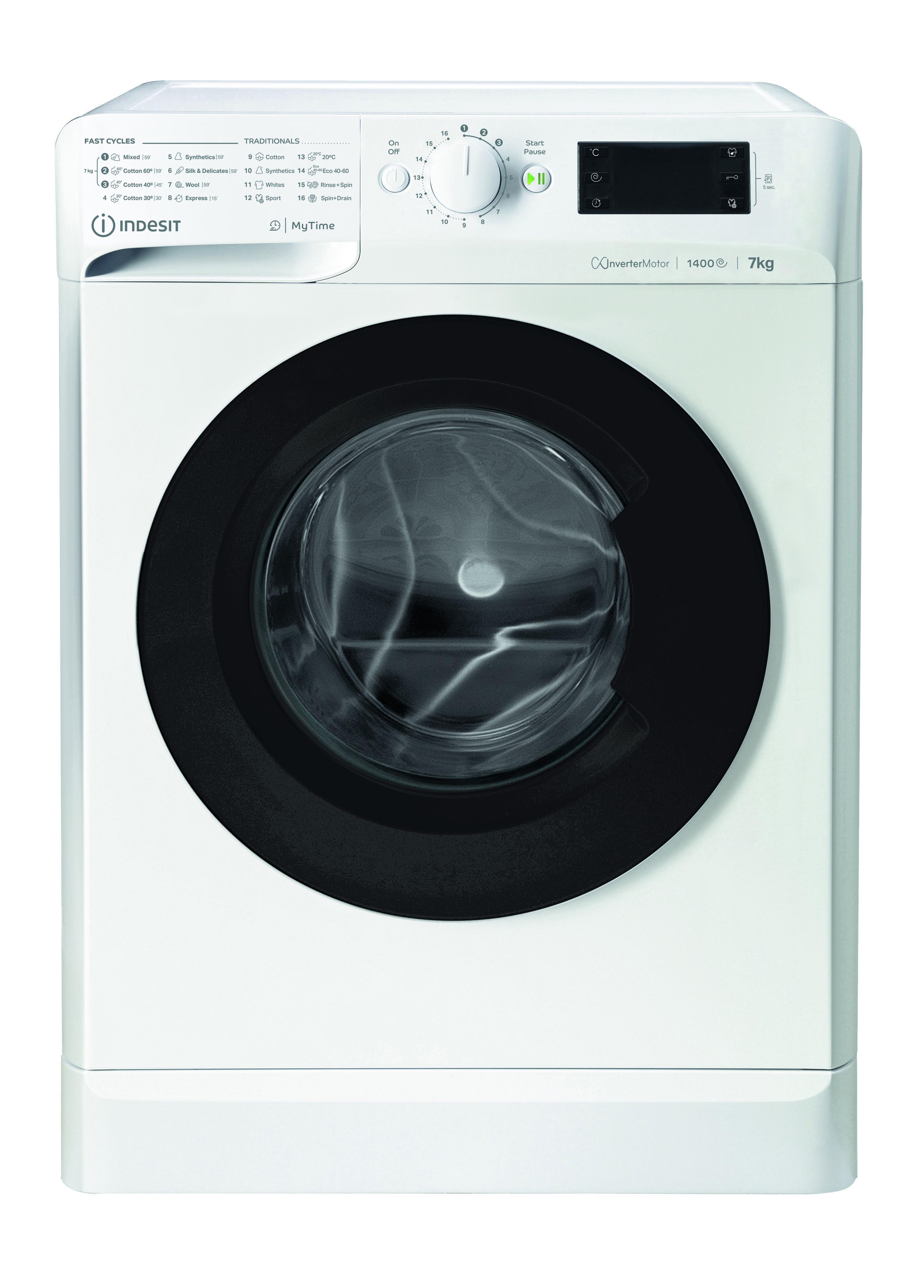 Indesit MTWE 71483 WK EE Wasmachine Wit