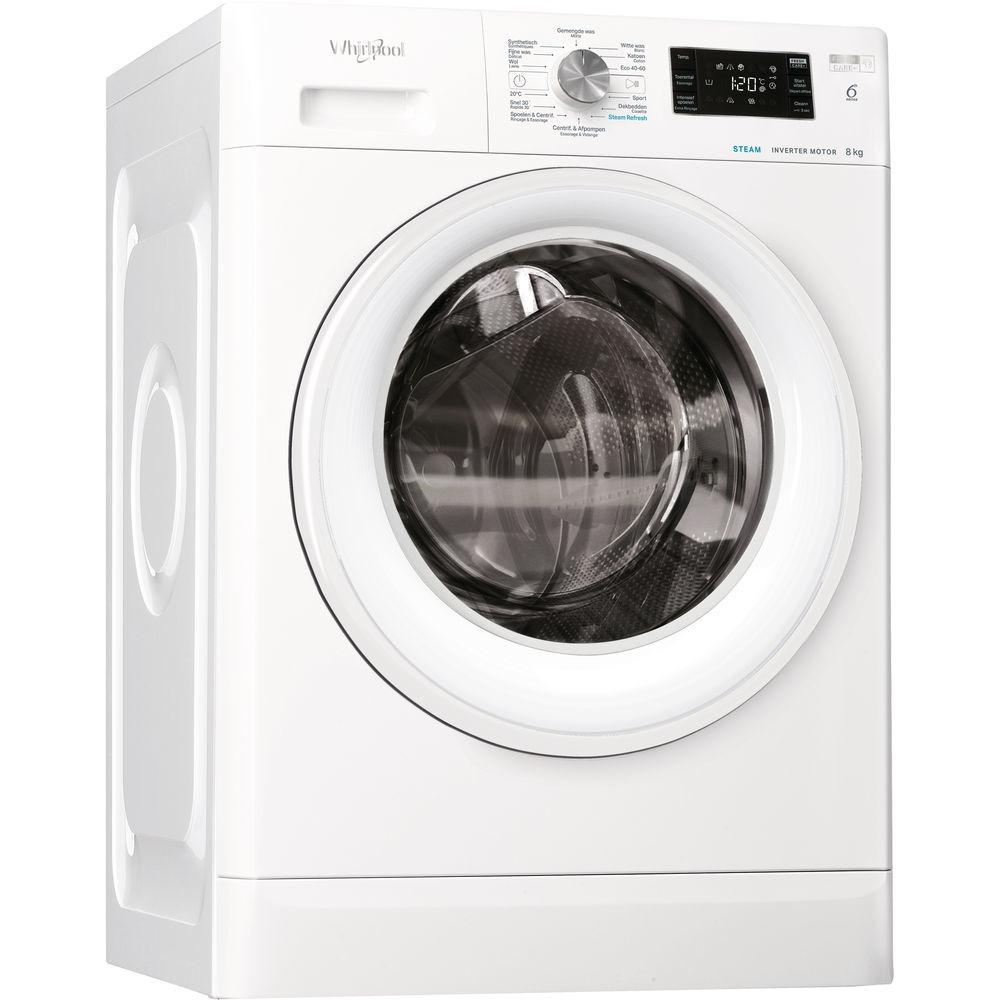 Whirlpool FFBBE 8448 WEV Wasmachine Wit