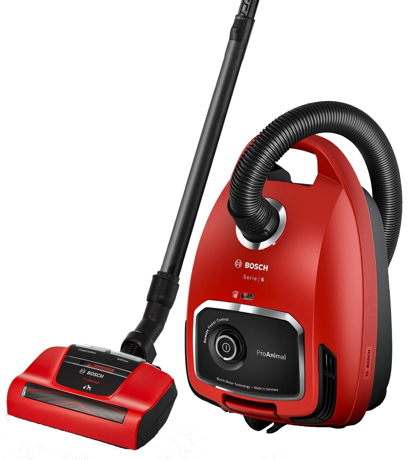 Bosch BGB6PET2 Stofzuiger Rood
