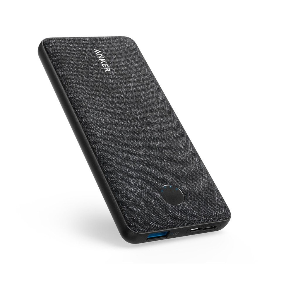 Anker PowerCore Metro Slim 10000 Powerbank Zwart