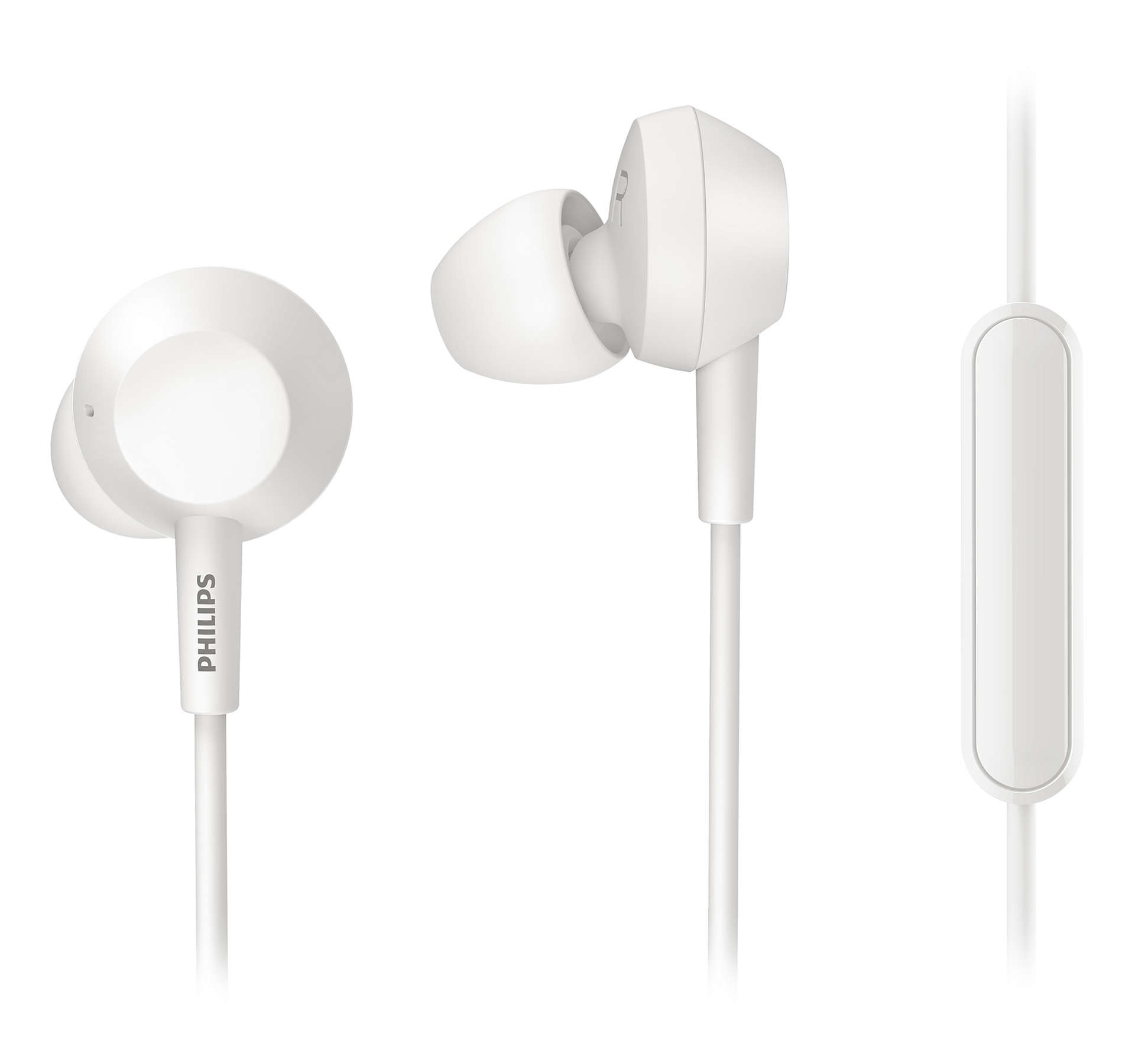 Foto van Philips TAE4105WT/00 In-ear oordopjes
