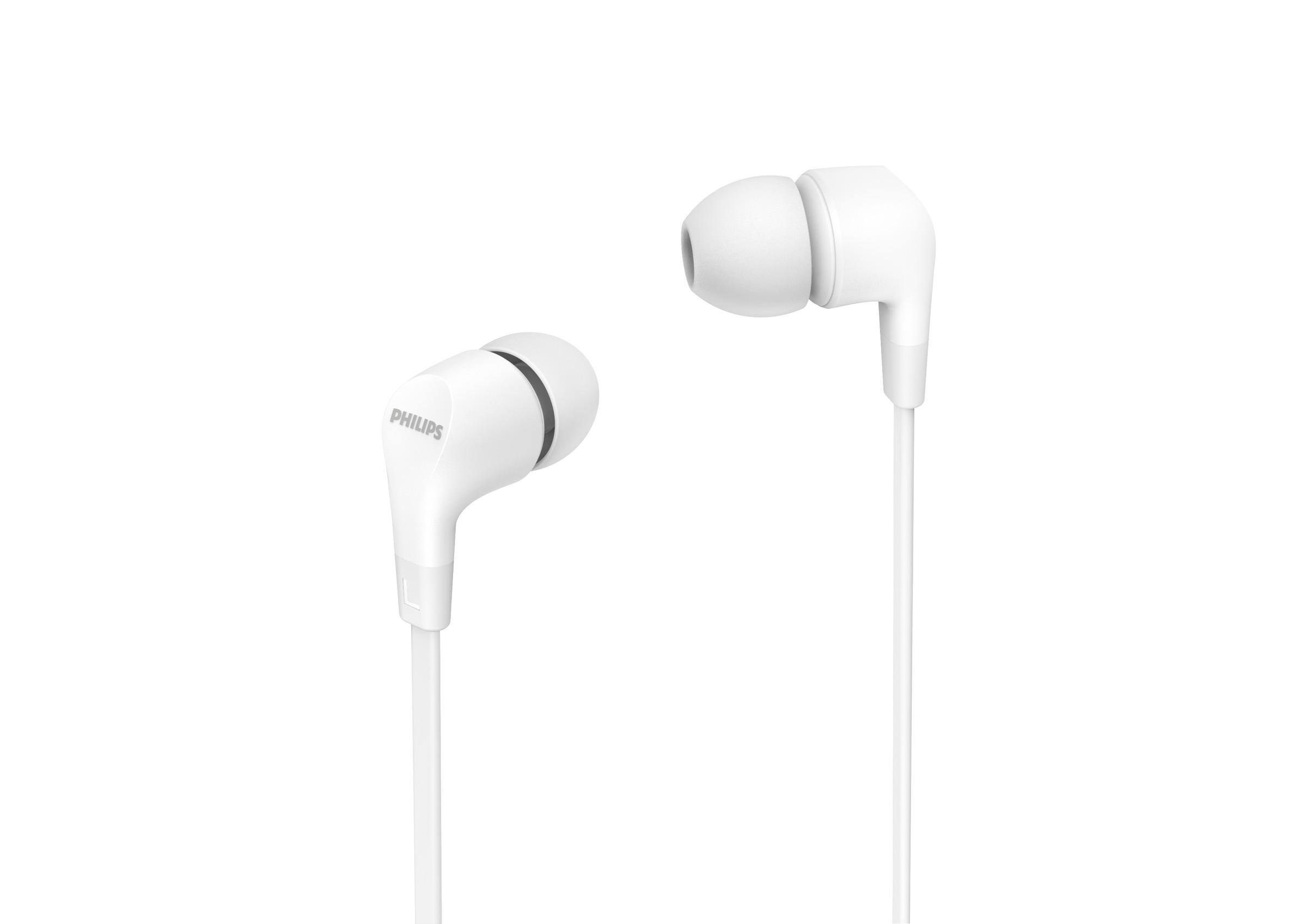 Foto van Philips TAE1105WT/00 In-ear oordopjes