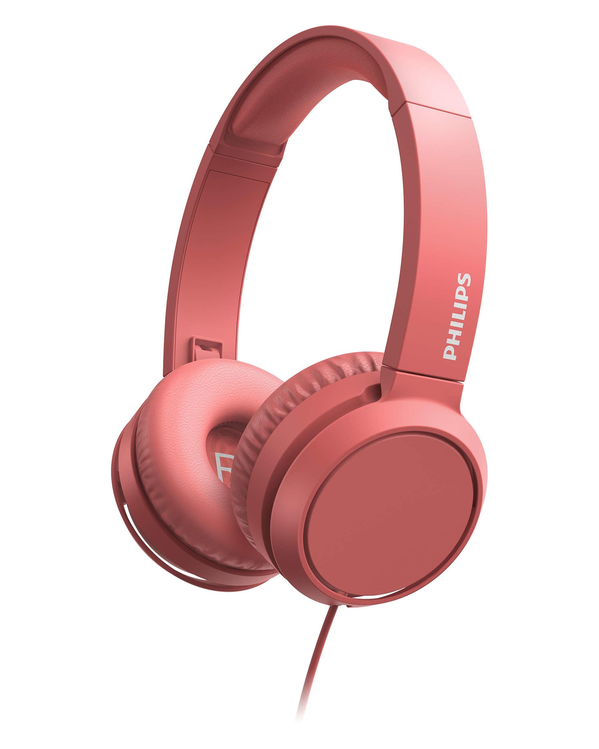 Philips TAH4105RD-00 Bluetooth Over-ear hoofdtelefoon
