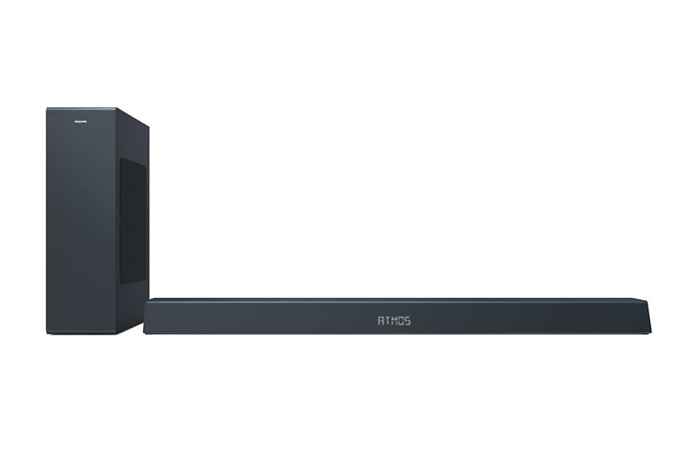 Foto van Philips TAB8405/10 Soundbar
