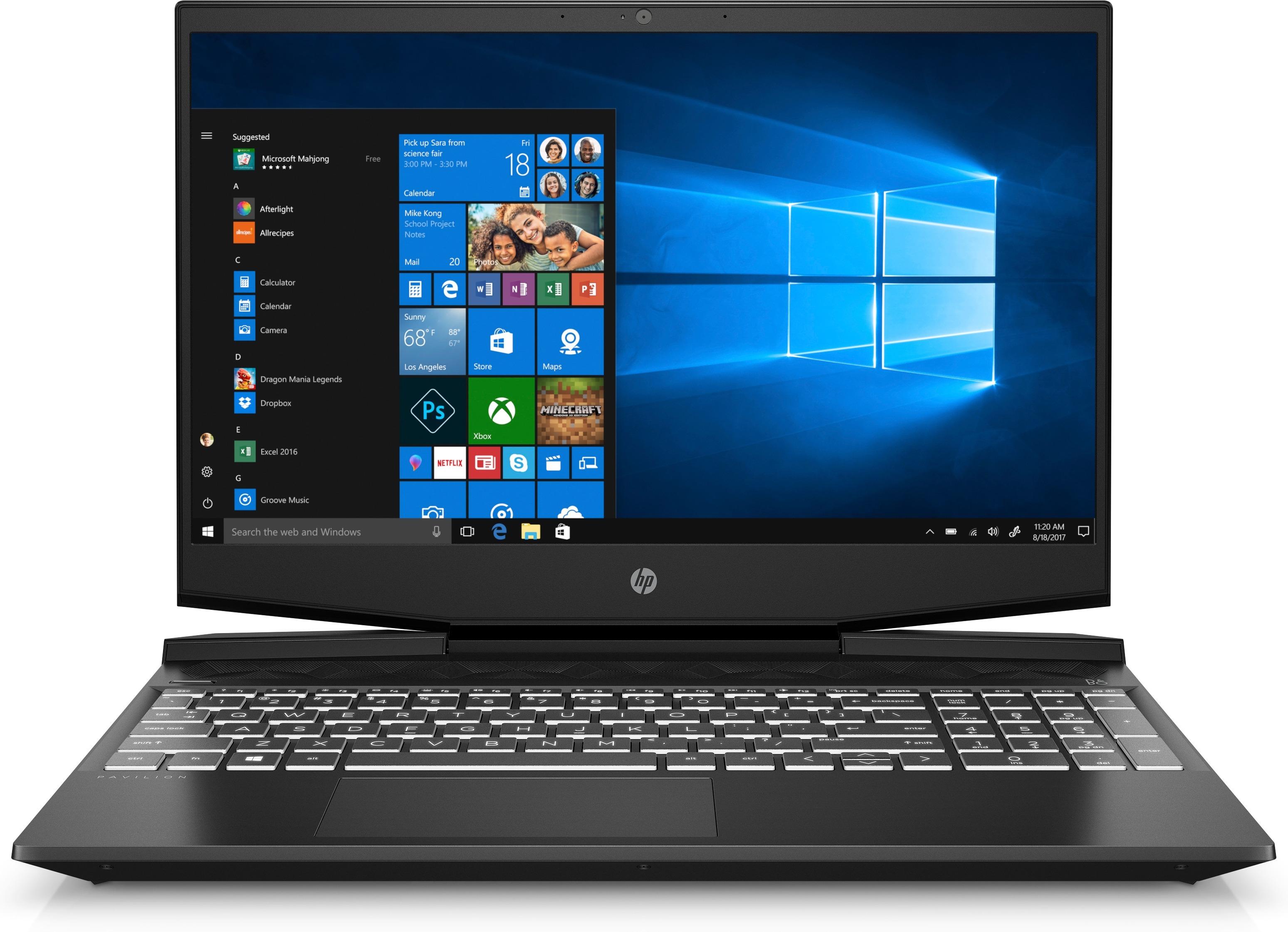 Korting HP Pavilion Gaming 15 dk0001nd laptop