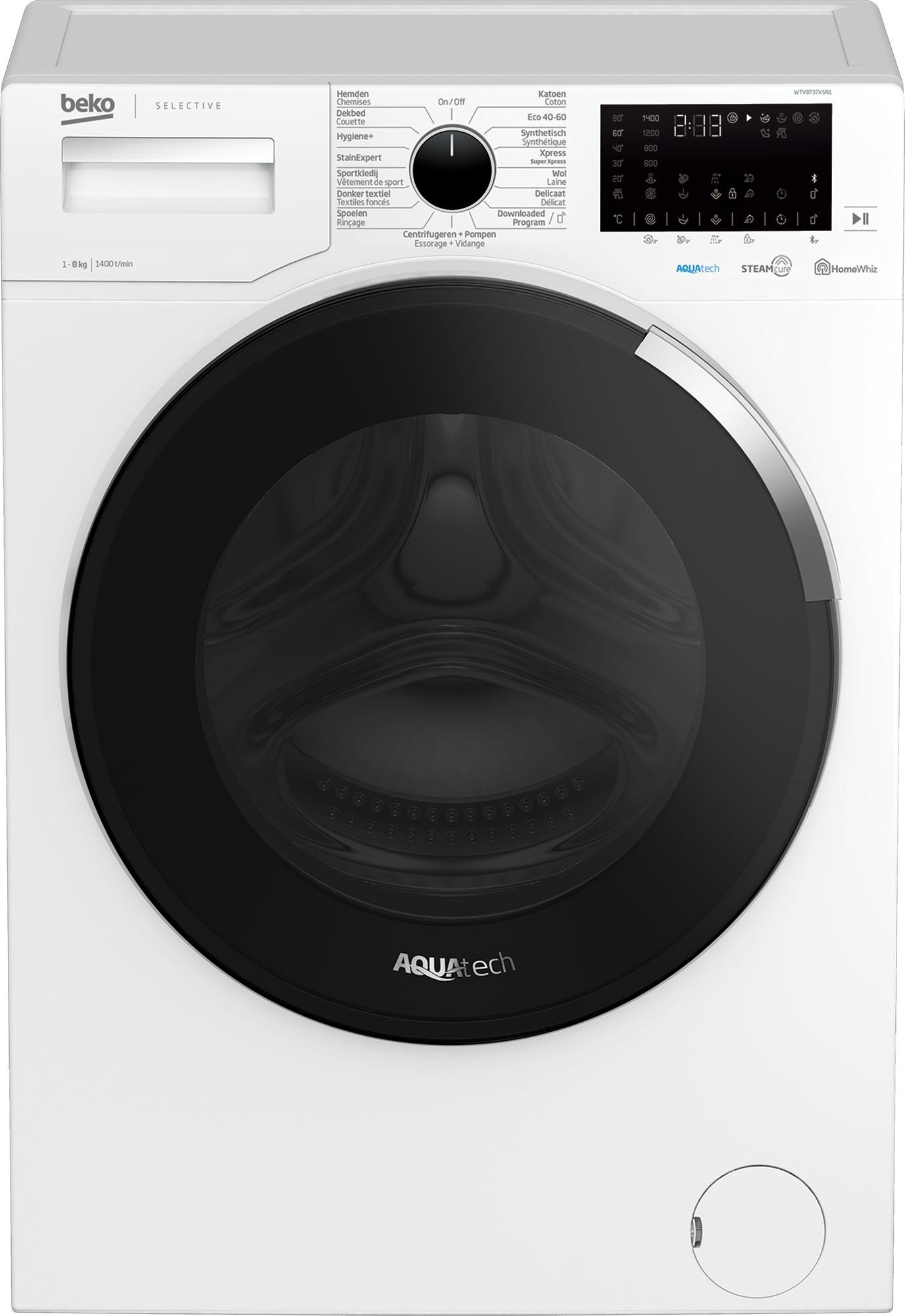 Beko WTV8737XSN1 Wasmachine