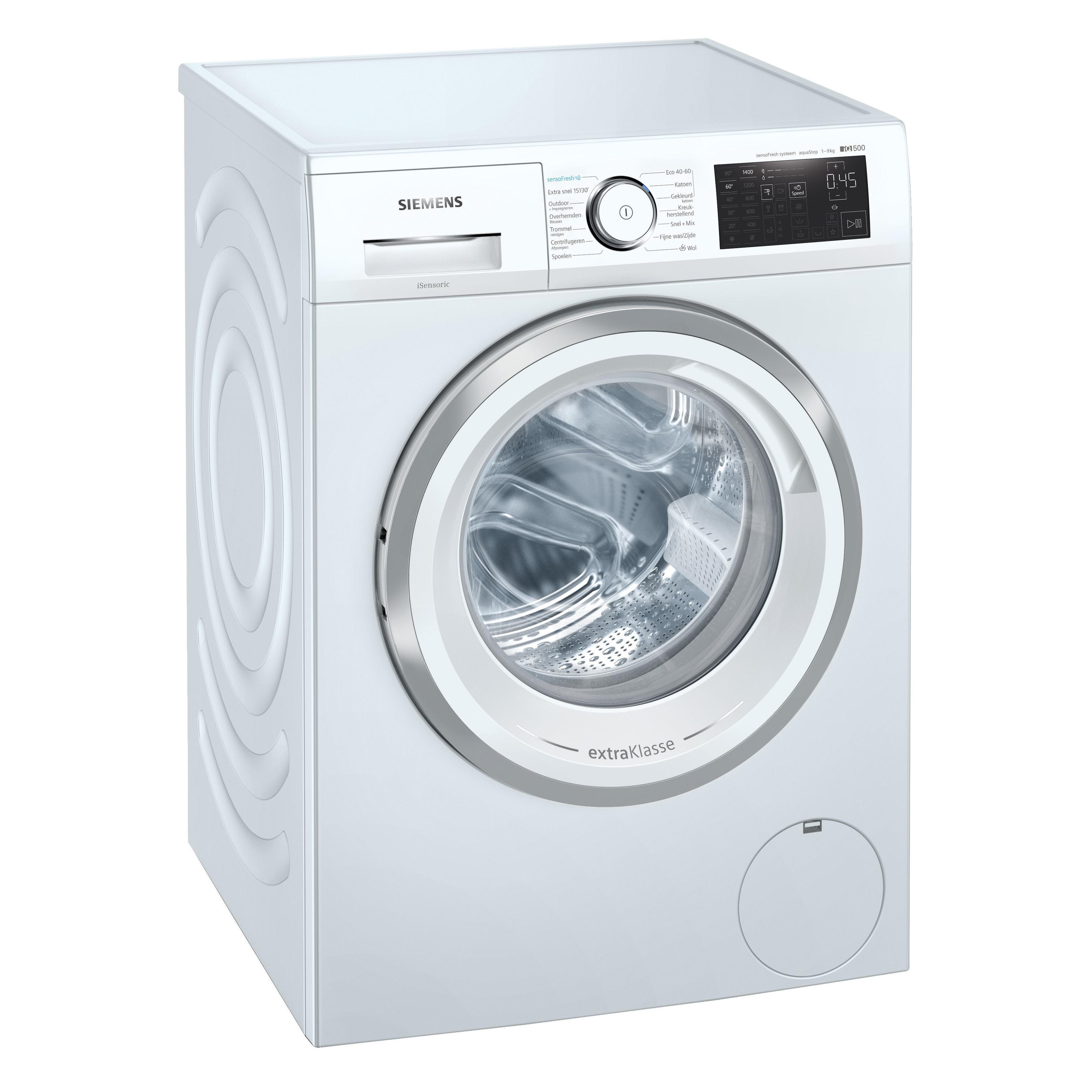 Siemens WM14UQ95NL Wasmachine Wit