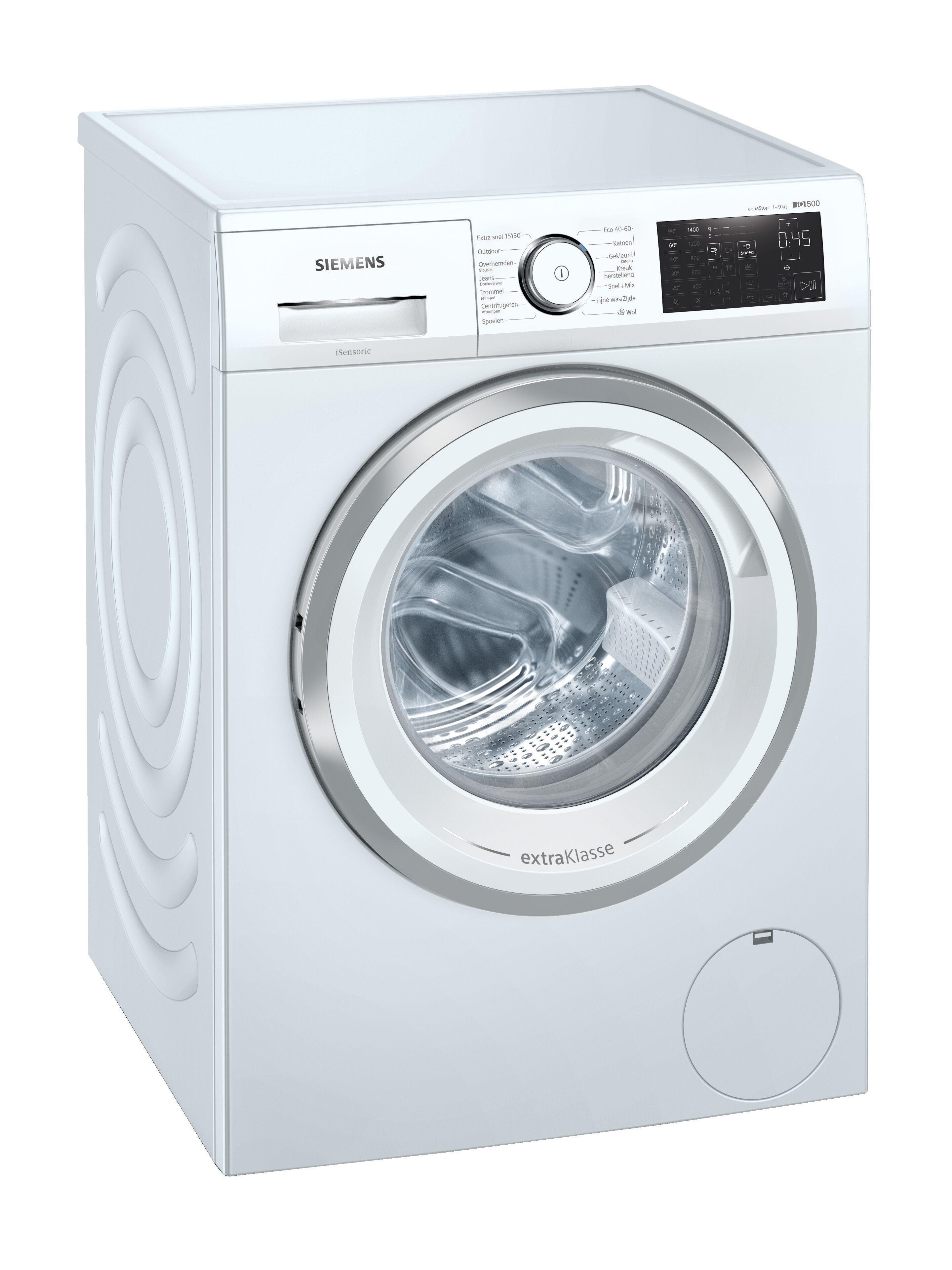 Siemens WM14UR90NL Wasmachine Wit