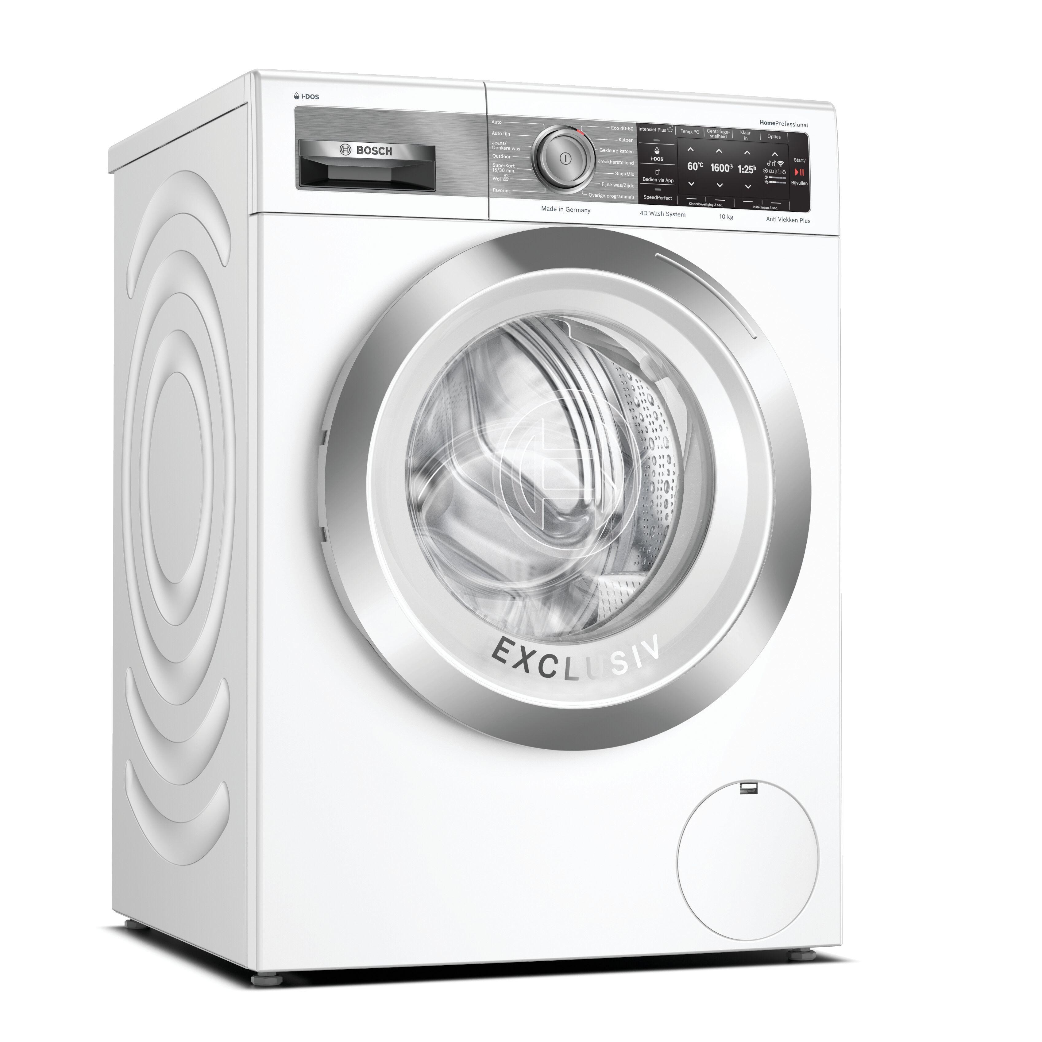 Bosch WAXH2E91NL Wasmachine Wit