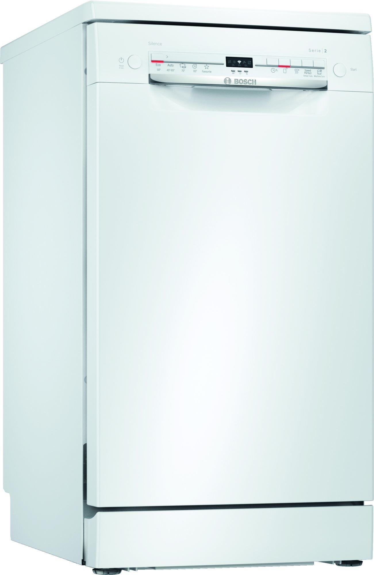 Bosch SPS2IKW04E Vrijstaande vaatwasser Wit