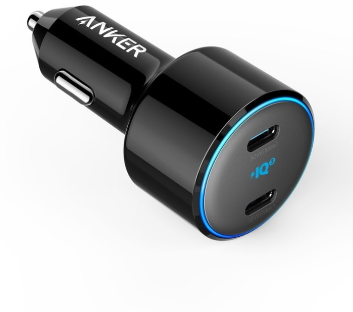 Anker PowerDrive+ III Duo Origin Powerbank Zwart