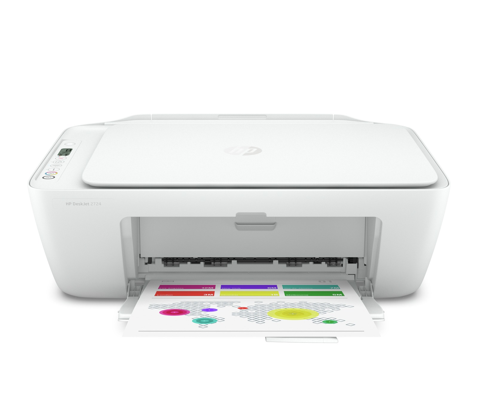 Foto HP all-in-one inkjet printer DeskJet 2724