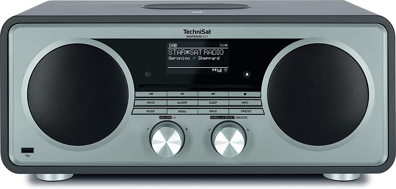 TechniSat Digitradio 601 Internet radio Zwart