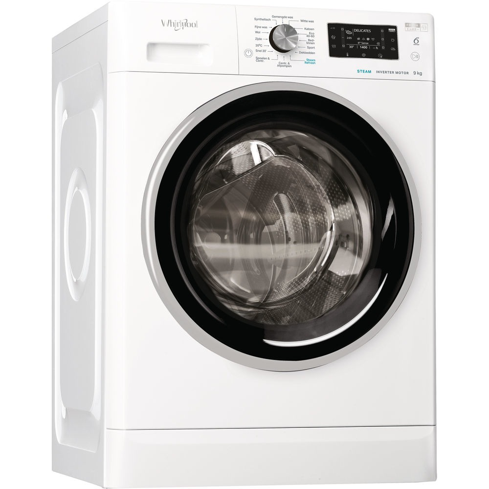 Whirlpool FFD 9448 BSEV NL Wasmachine Wit