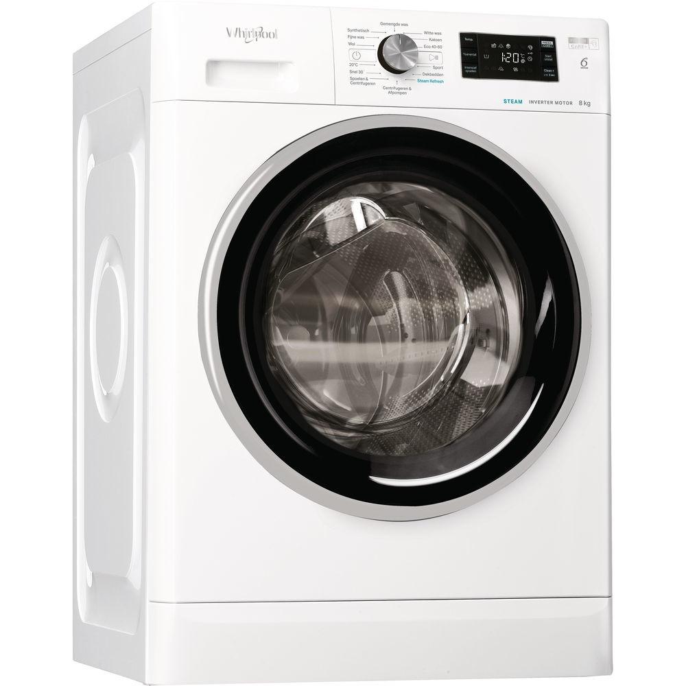 Whirlpool FFB 8468 BSEV NL Wasmachine Wit