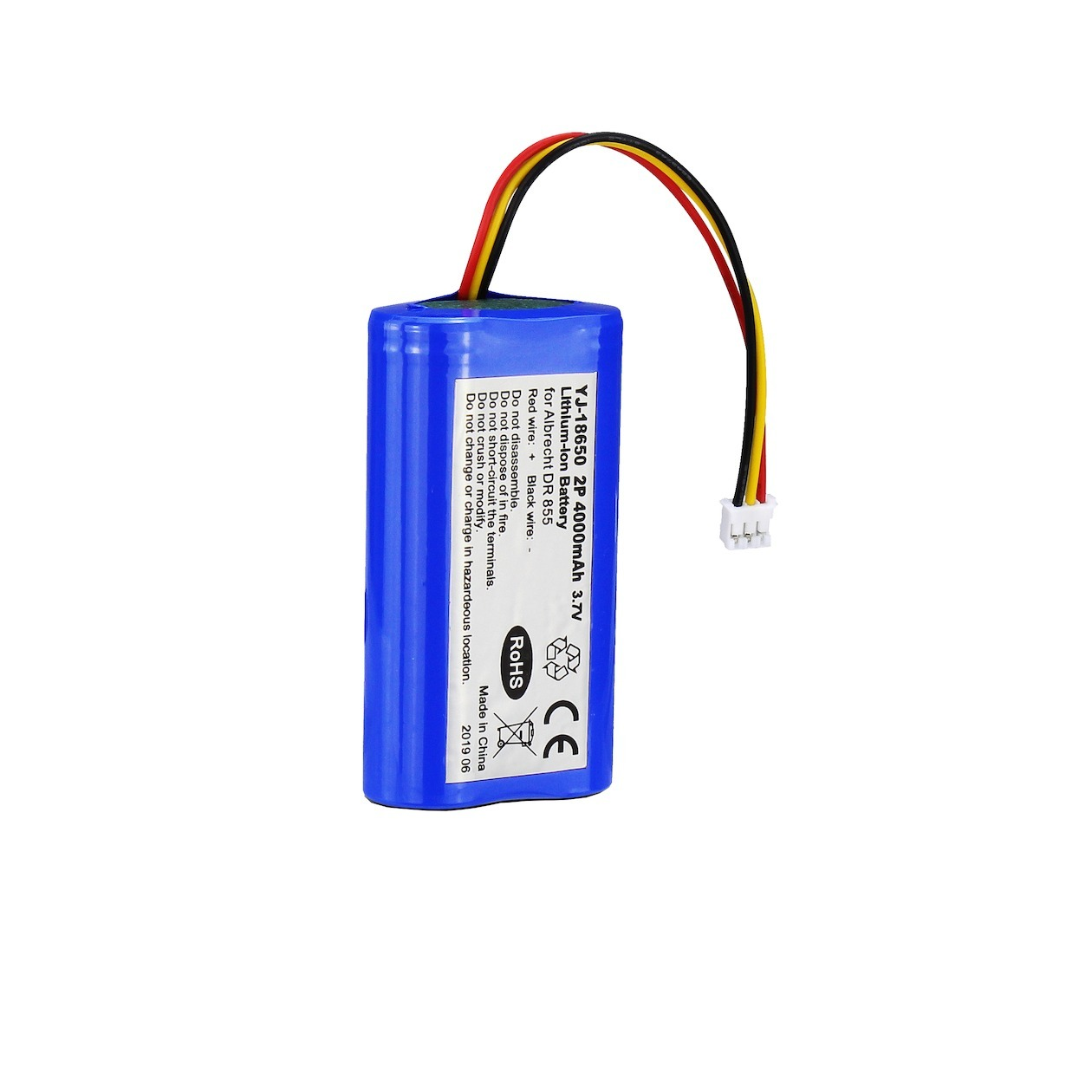 Korting Albrecht battery pack for DR855 DR860 batterij