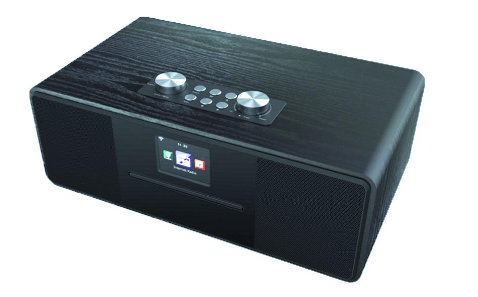 Albrecht DR 690 Hybride radio Zwart