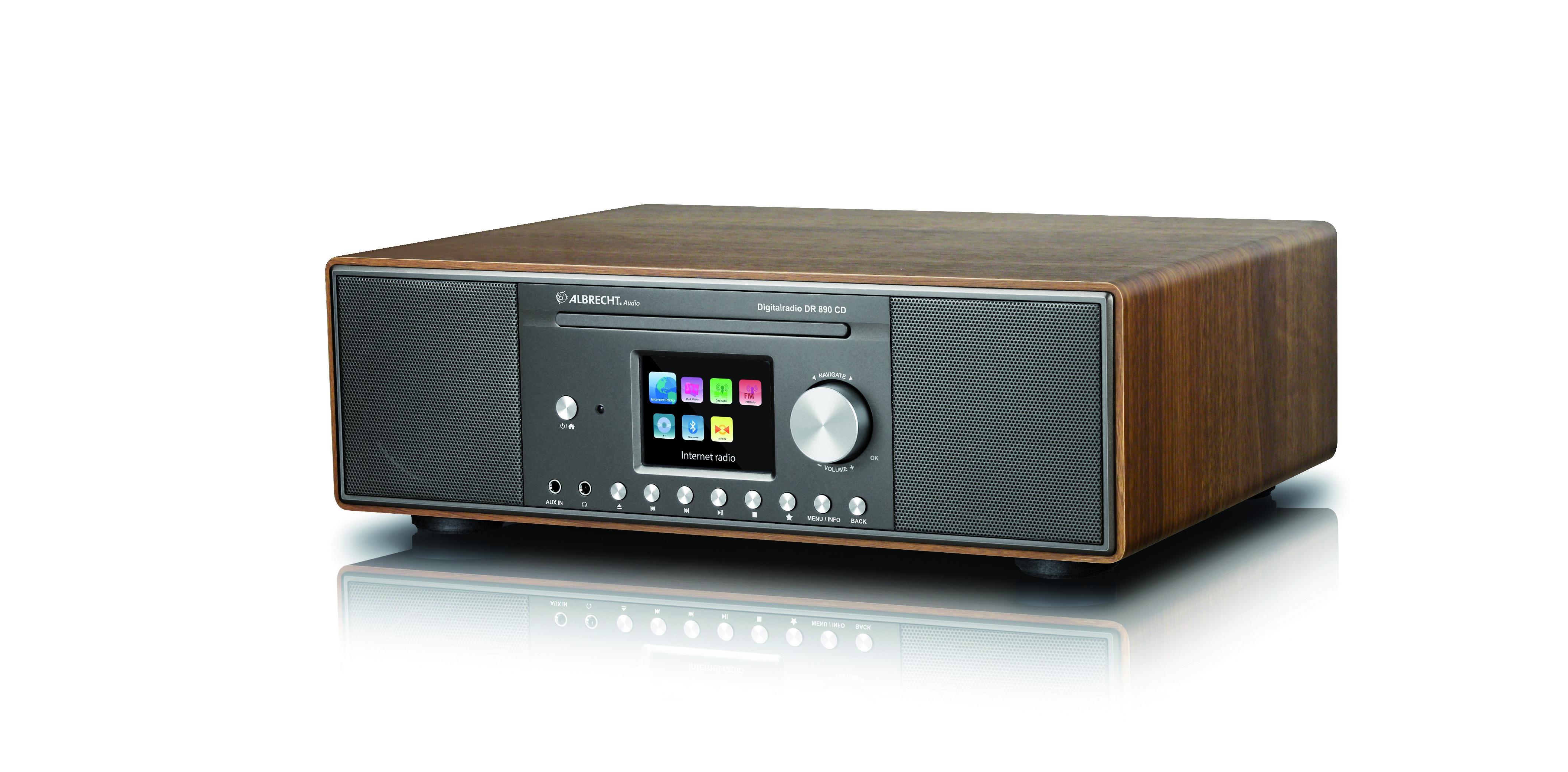 Albrecht DR 890 Hybride radio
