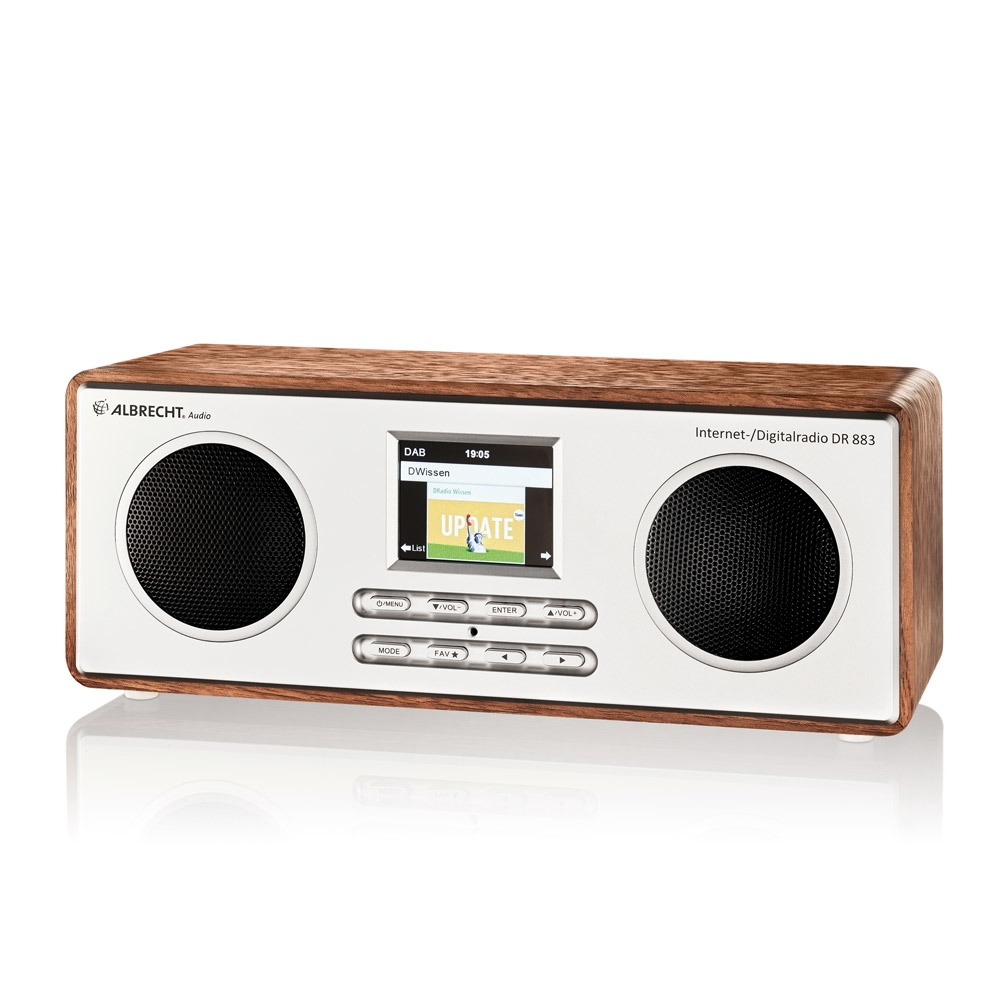 Korting Albrecht DR 883 hybride radio